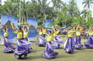 Performers reenact scenes depicting the arrival of Spaniards in Magallanes town in Sorsogon province, where the first Mass in Luzon was celebrated in 1569. —JUN PASA/CONTRIBUTOR