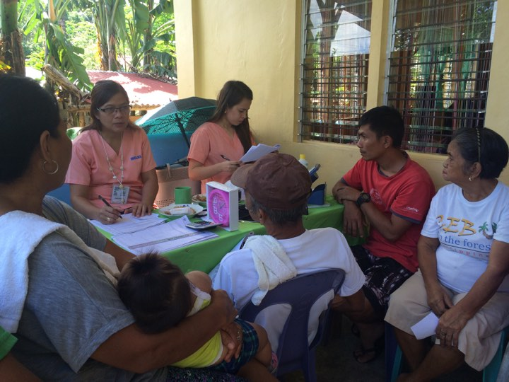 RHU launches Check-up sa Barangay and other health services caravan