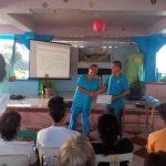 "IEC During Training – Seminar on Food Handlers ""Siguridad sa Pagkaing Ilalatag"""