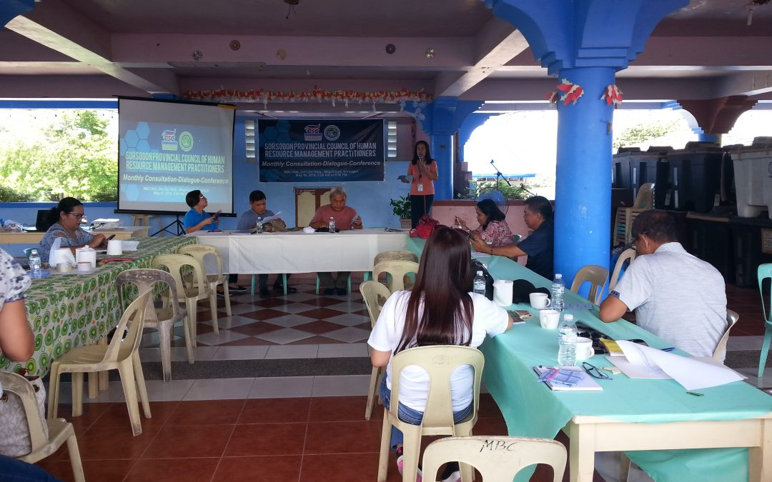 LGU Magallanes hosted the Monthly Consultation-Dialogue-Conference (May) of Sorsogon Provincial Council of Human Resource Management Practitioners