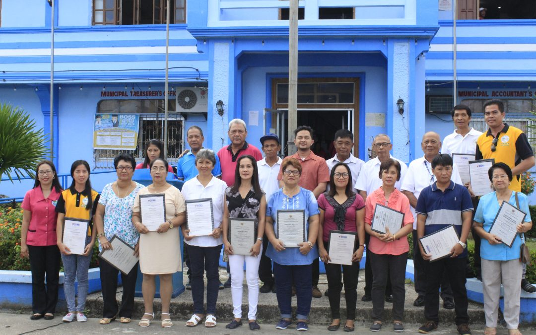 Awarding Ceremony for the Child Development Centers and Day Care Workers who passed the Department of Social Welfare and Development (DSWD) Accreditation Test