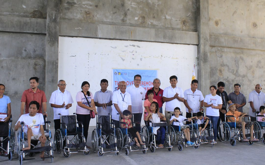 Turn-over Ceremony of Wheelchairs to PWD Beneficiaries in the Municipality of Magallanes, Sorsogon