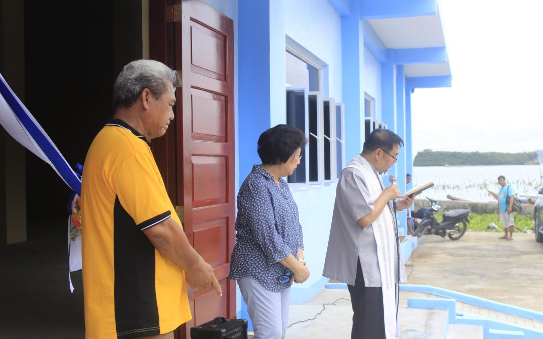 Blessing and Inauguration of the Municipal Youth Center building