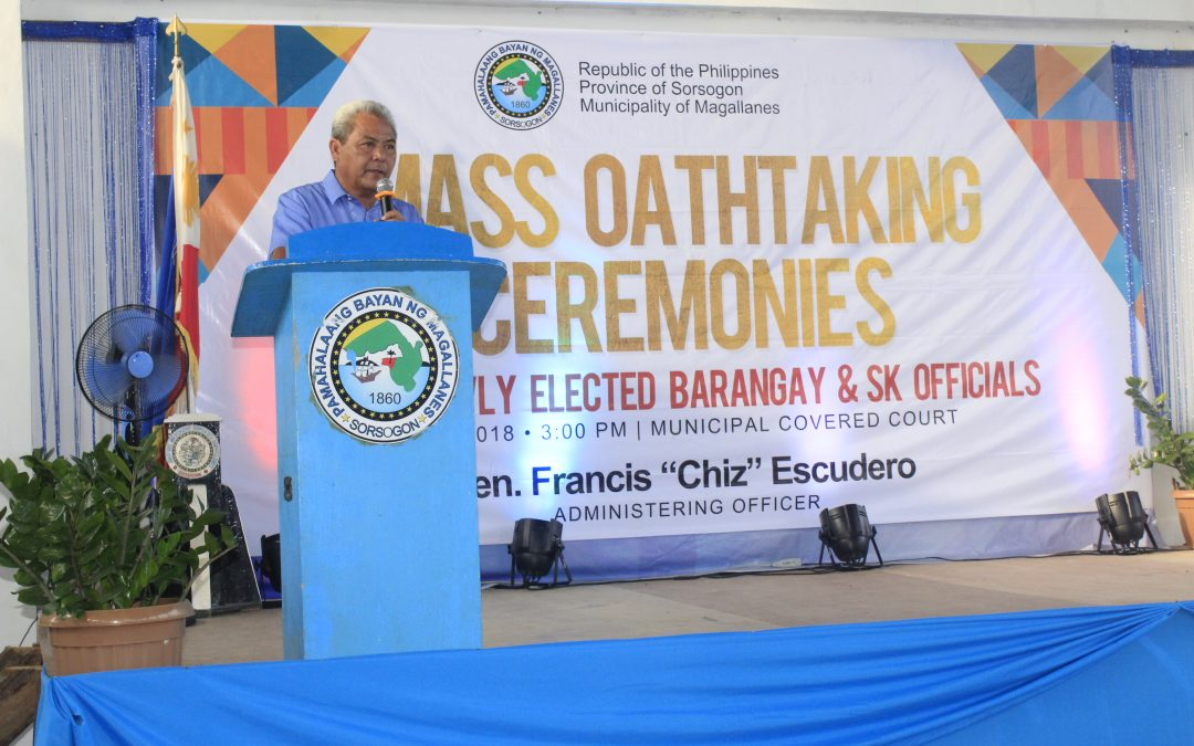 Mass Oath Taking in the Municipality of Magallanes