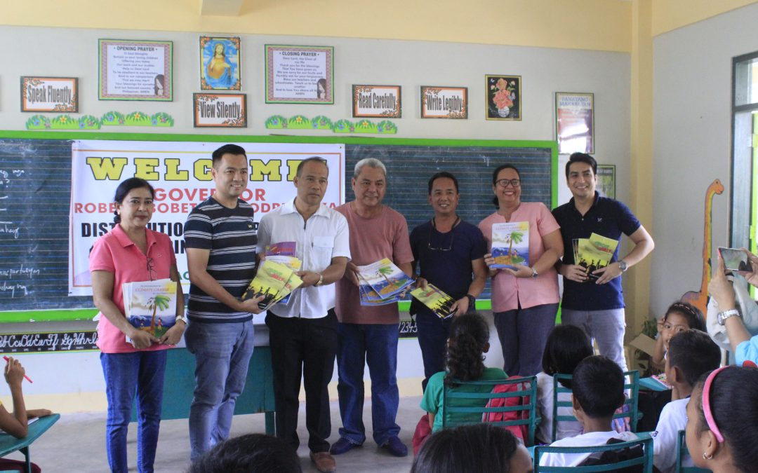 Governor Bobet Lee Rodrigueza leads the Distribution Of Children's  Books From The Province's Supplementary Reading Materials Program