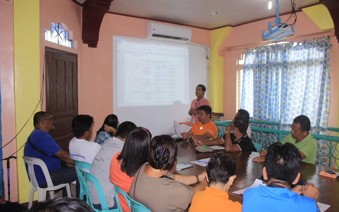 Poblacion PBs meeting on the proposed new schedule of solid waste collection starting on 2019