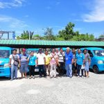 Turn-over of Rescue Vehicles to Clustered Barangays