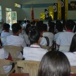 MHO conducted an IEC on HIV/AIDS, STI, Teenage Pregnancy and SOGIE at SSC-MC