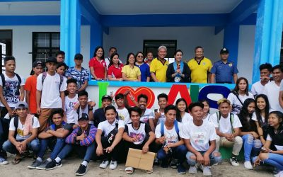 """The Embassy of Japan, through its program officer, Ms. Juno Barbra C. Cabotan monitored the project """"Construction of Community Learning Center (CLC) in the Municipality of Magallanes"""""""