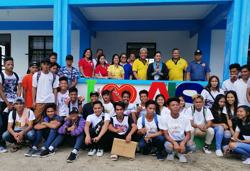 "The Embassy of Japan, through its program officer, Ms. Juno Barbra C. Cabotan monitored the project ""Construction of Community Learning Center (CLC) in the Municipality of Magallanes"""